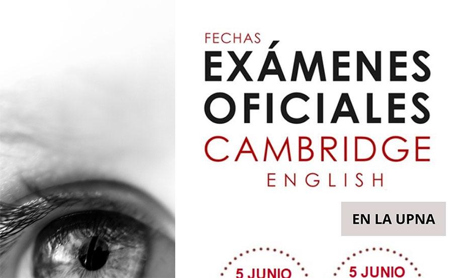 Información sobre la matriculación y exámenes oficiales de Cambridge